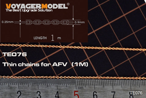 Thin chains for AFV (1m)