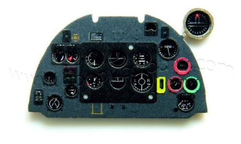 Spitfire Mk.Vb late Instrument Panel