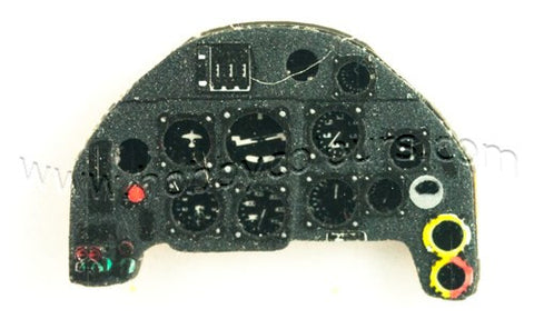Me 109 F & early G Instrument Panel
