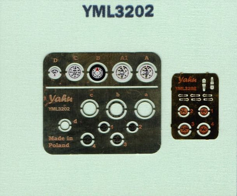 Albatros D.V Instrument Panel Set