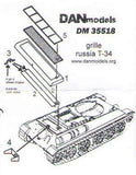 Grilles for T-34 tank