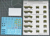 Zil-131 3,5 tons Cargo Truck  (Decals with masks)