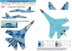 Ukranian Su-27UB Digital camouflage (with masks)