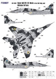 Digital camouflage masks for Ukrainian MiG-29 9-13
