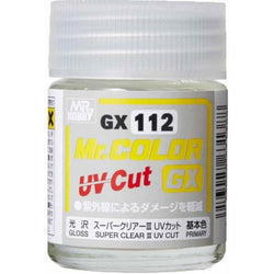 MR. COLOR GX SUPER CLEAR Ⅲ UV CUT GLOSS (18ml)