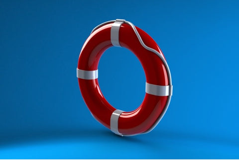 Life buoy from plastic