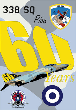 F-4E AUP 338SQ 60-66 YEARS PIOU