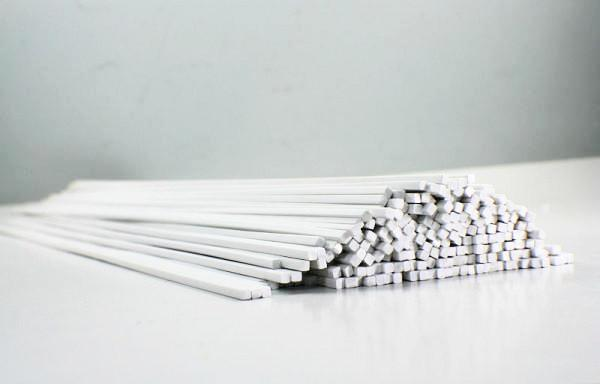 0.5 mm Square Rod Bar Styrene (2 pc)