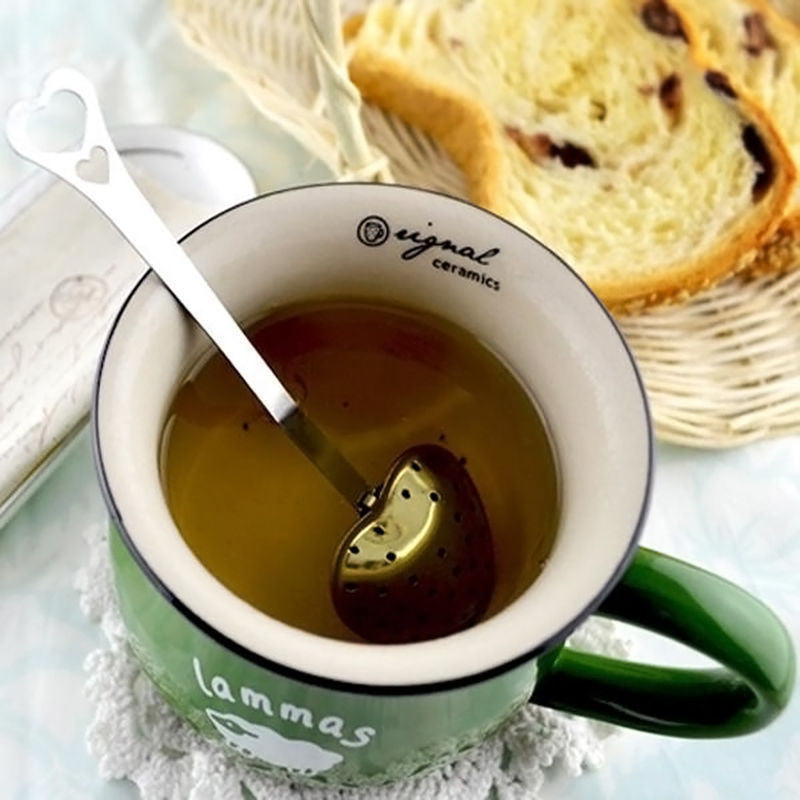 Stainless Steal Heart Shaped Tea Infuser