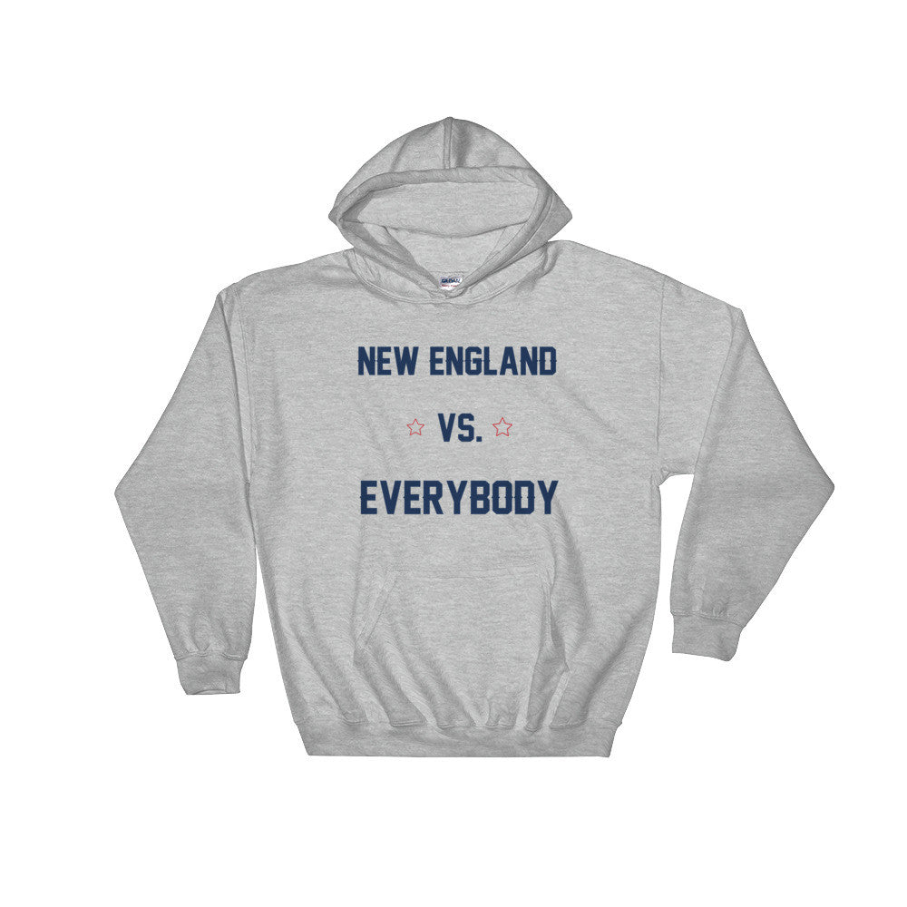 New England vs. Everybody Hoodie