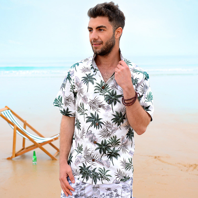 Aloha Palm Tree Hawaiian Shirt