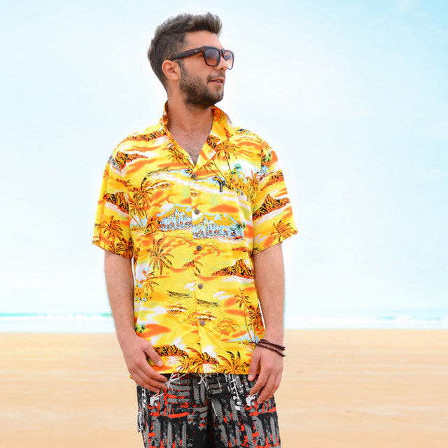 Beach Hawaiian Shirt