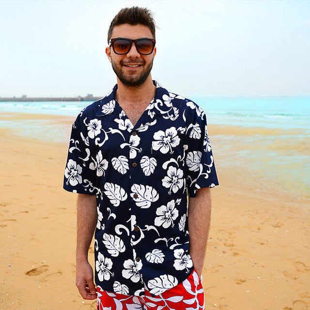 Casual Floral Hawaiian Shirt