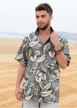 Large Floral Hawaiian Shirt