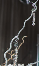 Silver  Curly Willow Branches, Medium Length
