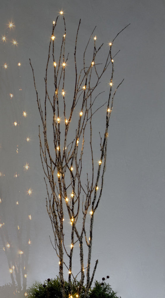 Led Lighted Ice Birch Branches Willows Amp More