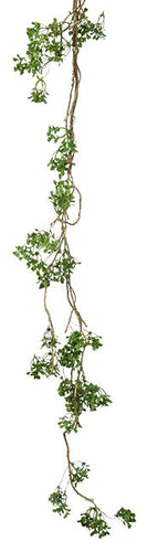 Twig & Boxwood Garland