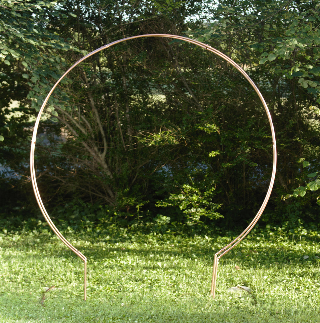 6-ft Round Copper Arch