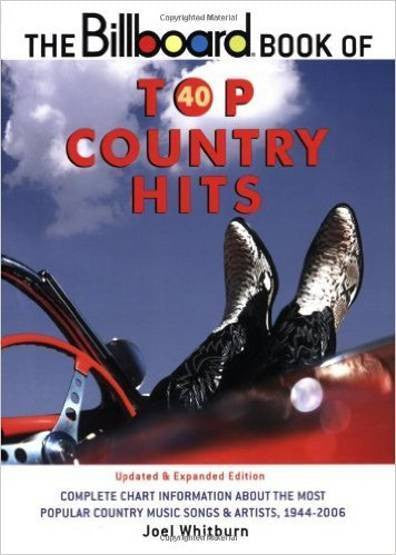 Billboard Book of Top 40 Country Joel Whitburn Brand New Factory Sealed Book