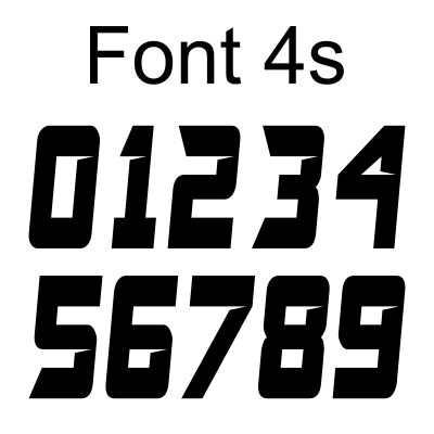 New Fonts just arrived at MxNumbers.com !!