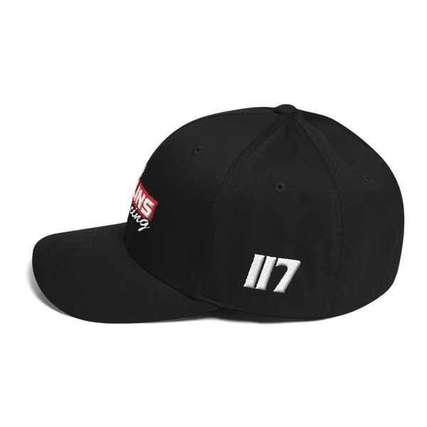 Torin Collins FlexFit Structured Twill Cap - MxNumbers