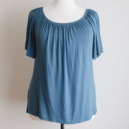 Easy Pleatsy Pull Down Nursing Top