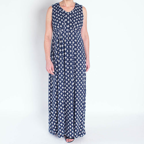 Blue Medallion Maternity & Nursing Maxi