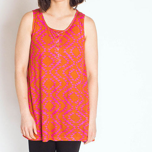 Brilliant Sunshine Maternity & Nursing Tunic