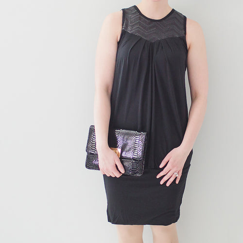 Sequin & Be Seen Maternity & Nursing Dress