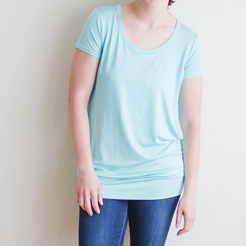 The Classic Nursing Tunic, Cool Ice