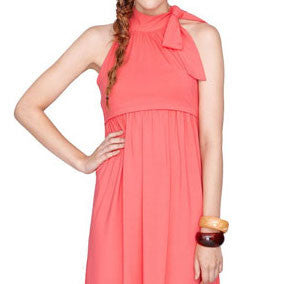 Coral Reef Nursing & Maternity Dress