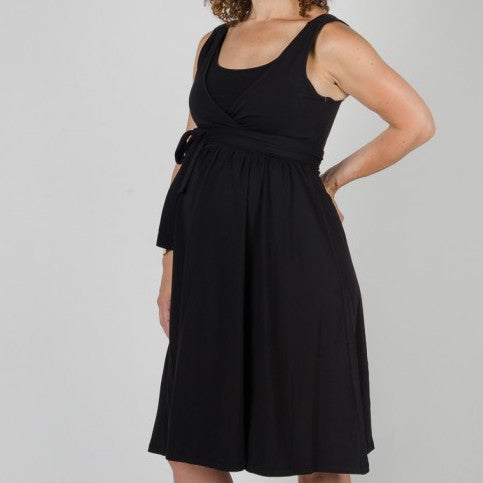 Comfort & Flair Dress in Black
