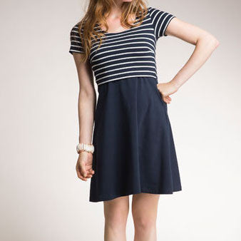 Swing & Stripes Dress (Organic Cotton)