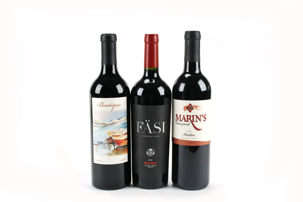 Malbec 6 Pack (Fasii, Boatique, Marin)