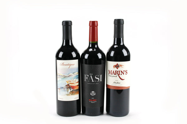 Malbec 3 Pack (Fasi, Boatique, Marin)