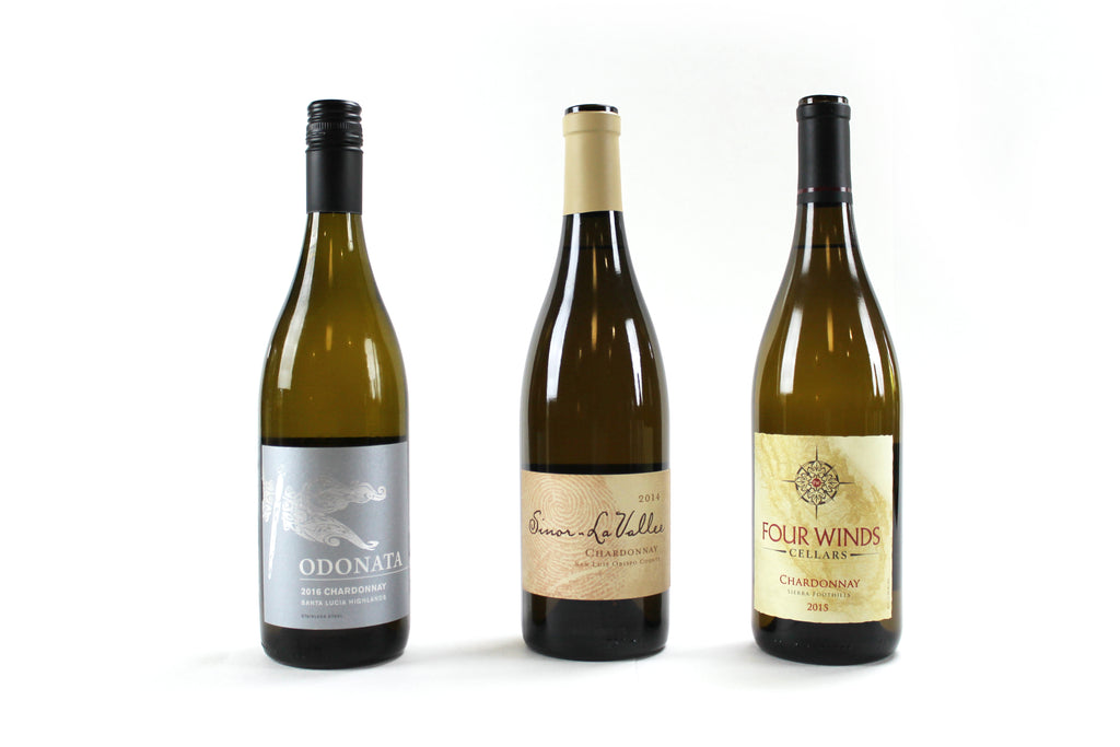 Chardonnay 3 Pack (Sinor, Four Winds, Odonata)