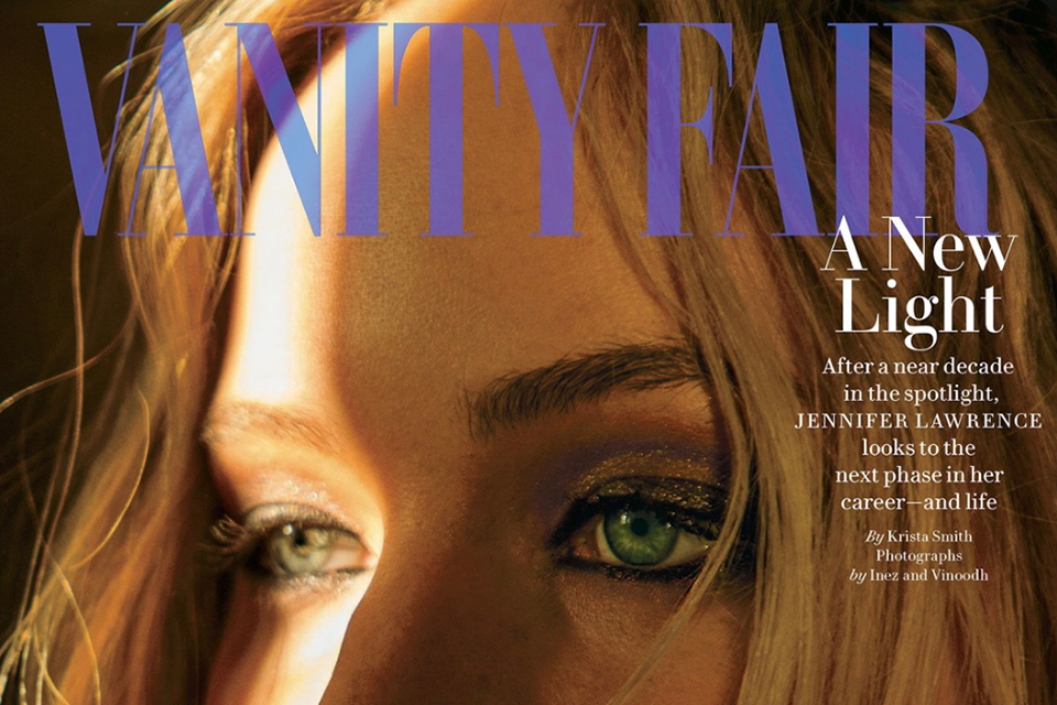 Vanity Fair: Jennifer Lawrence, A New Light