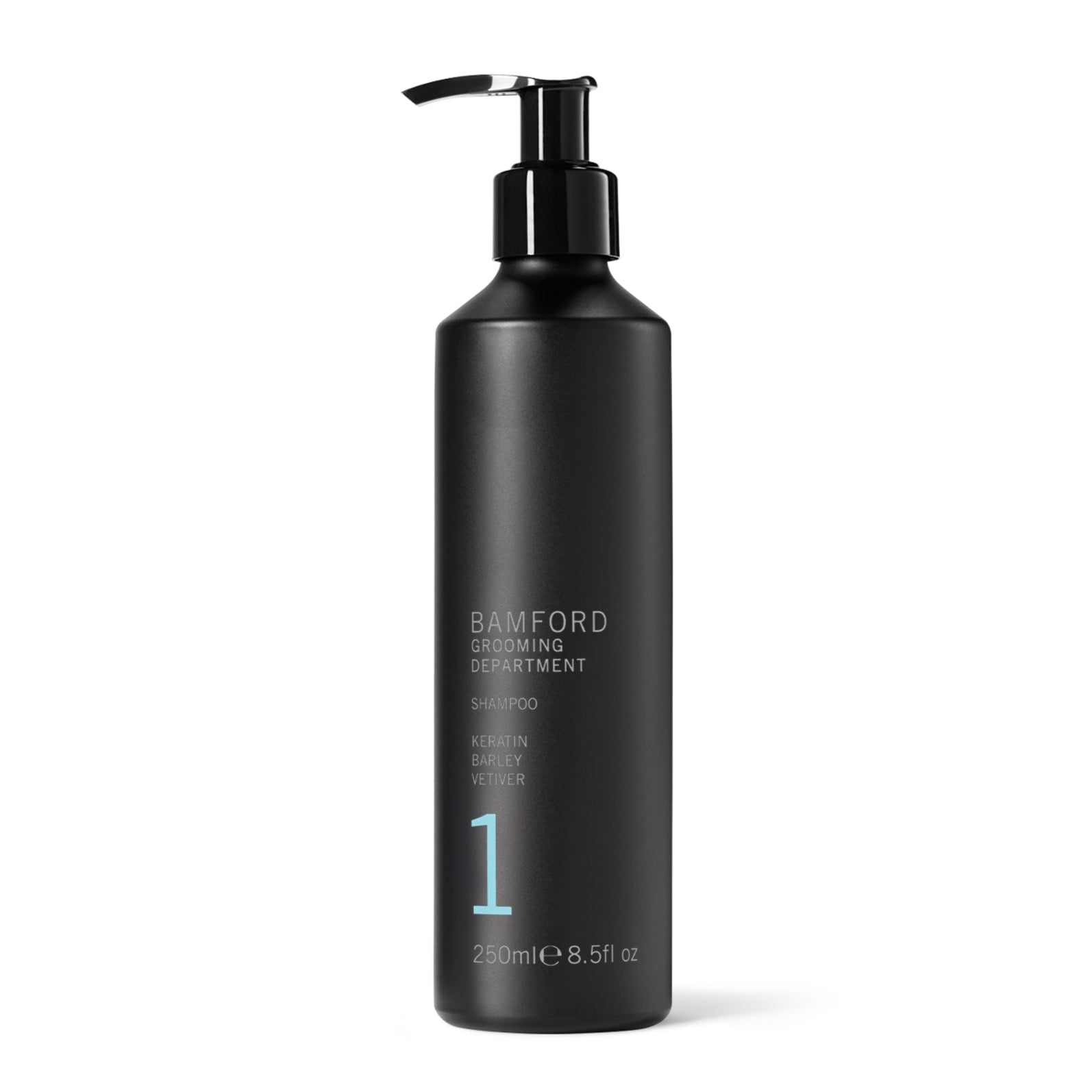 A daily conditioning shampoo with Keratin and Barley protein to cleanse and refresh hair. Fragrance notes - A rare blend of fresh Vetiver, Bergamot and Cassis tempered with an elegant combination of wood smoke, warming dark Amber, Agarwood and leather.