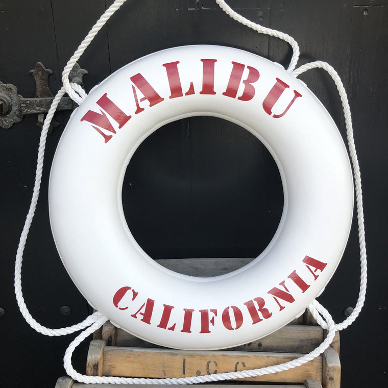 Malibu, California Red Lifesaver
