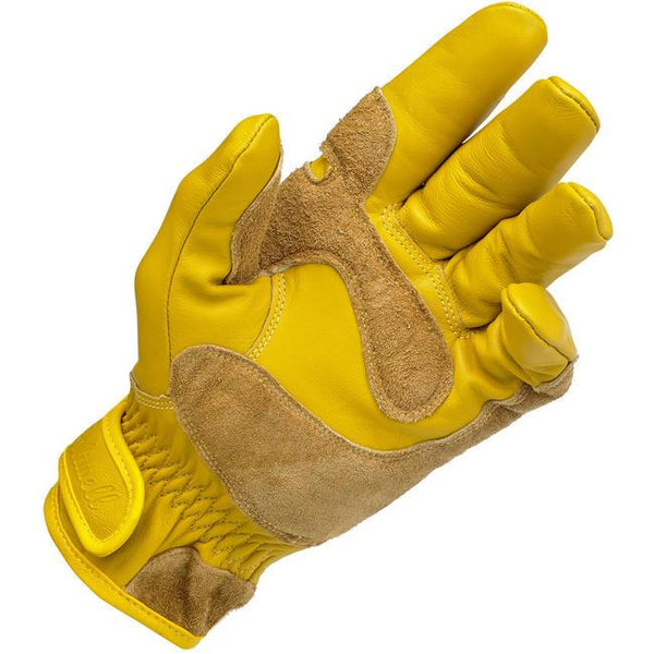 Biltwell Work Gloves Yellow