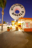"""Bellflower Bagel"" LA After Sunset, Connie Conway"