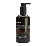 Daylesford organic hand wash. Black bottle and black push down pump lid. Nourishing botanical extracts to soften and soothe your hands 99% natural and 85% organic ingredients. Bitter orange scent.