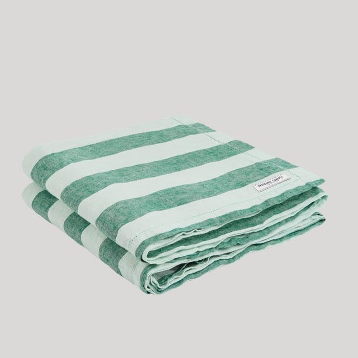 Frescobol Wide Stripe Linen Towel