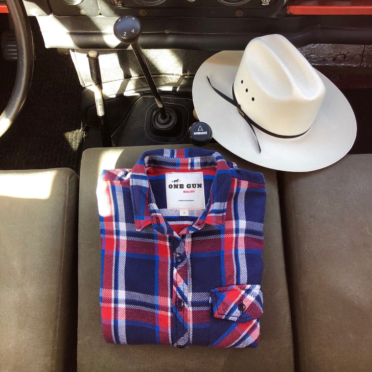 One Gun Ranch WOMENS Flannel