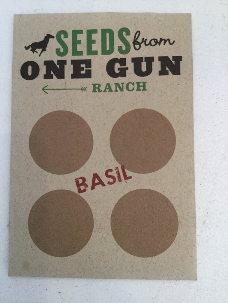 Seeds from One Gun Ranch