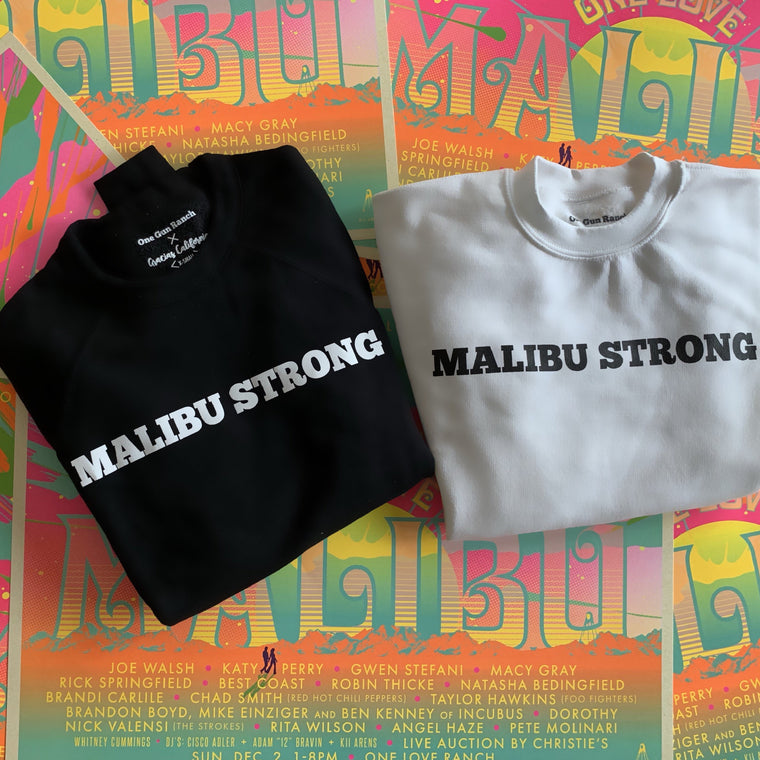 Gracias California Malibu Strong Sweatshirt