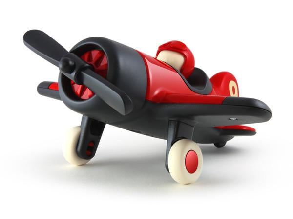 With a solid body and simple, eye-catching graphics on the wing and tail, just like the rest of our Classic collection, Mimmo is built to last from the finest quality materials. A classic heirloom toy to be loved and cherished by children and grown ups alike, from take-off to landing and all the loop-the-loops in-between.  Length 270mm x Width 260mm x Height 135mm