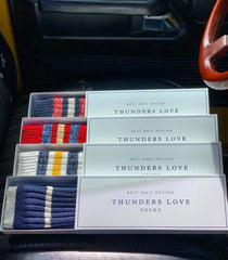Thunder Love Outsiders Collection Socks. - Recycled Cotton 90%  - Polyamide 8%  - Elastane 2%