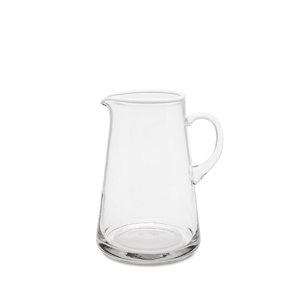Daylesford Ledbury large white tipped pitcher with a handle.
