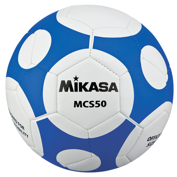 MIKASA Soccer Ball, Size 5.  Orbiting Design.  Stitched.